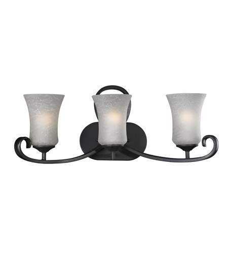 Z-Lite 603-3V Arshe 3 Light 23 inch Café Bronze Vanity Light Wall Light photo