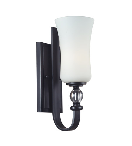 Z-Lite 604-1S Harmony 1 Light 5 inch Matte Black Wall Sconce Wall Light photo