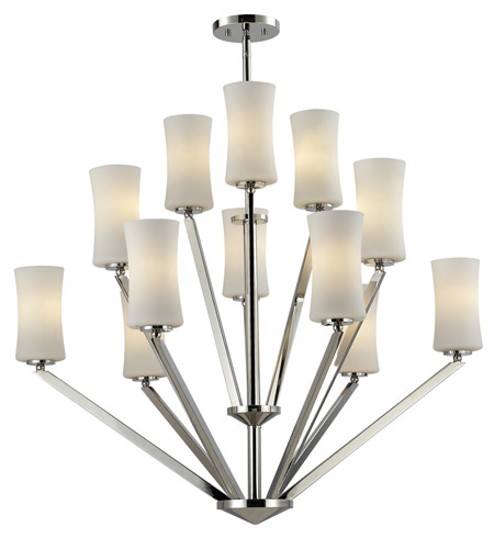 Z-Lite 608-12-CH Elite 12 Light 36 inch Chrome Chandelier Ceiling Light photo