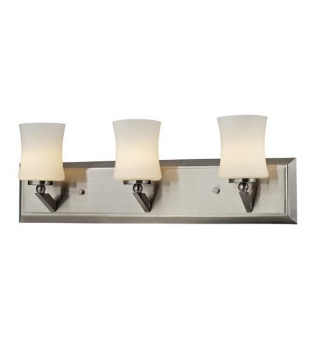 Z-Lite 609-3V-BN Elite 3 Light 21 inch Brushed Nickel Vanity Wall Light photo