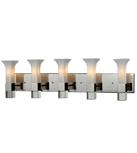 Z-Lite Lotus 5 Light Vanity in Chrome 611-5V-CH photo