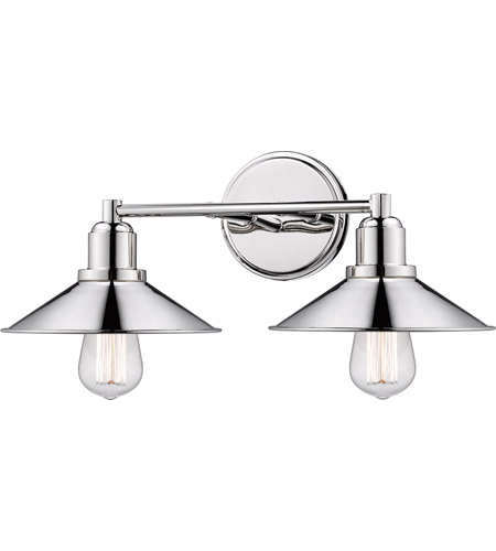Z-Lite 613-2V-PN Casa 2 Light 18 inch Polished Nickel Vanity Wall Light photo