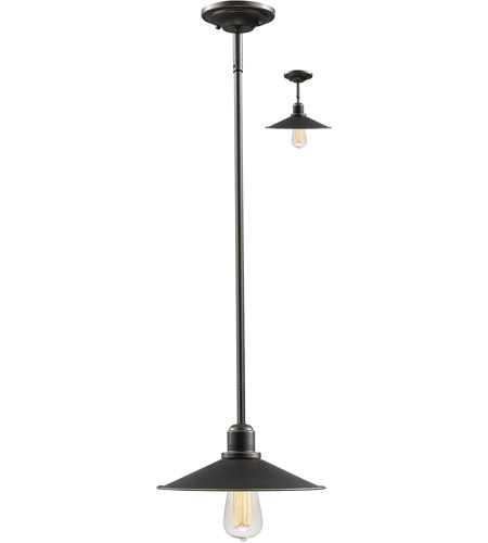 Z-Lite 613MP-OB Casa 1 Light 11 inch Olde Bronze Mini Pendant Ceiling Light photo