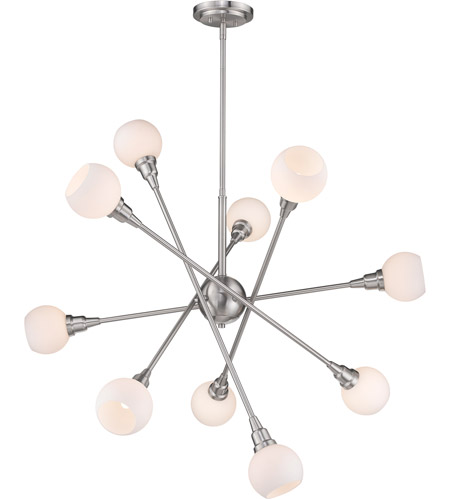 Z-Lite Brushed Nickel Steel Tian Pendants