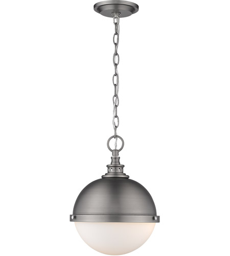 Z-Lite 619MP-AN Peyton 2 Light 12 inch Antique Nickel Mini Pendant Ceiling Light photo thumbnail