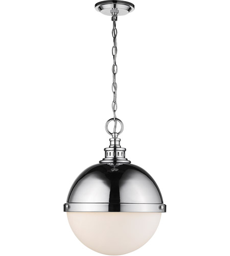Z-Lite Chrome Steel Peyton Pendants