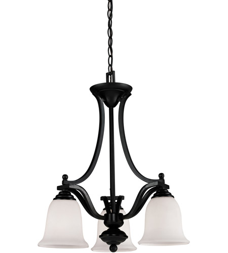 Z-Lite 702-3-BRZ Lagoon 3 Light 20 inch Bronze Chandelier Ceiling Light photo