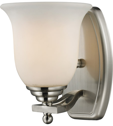 Z-Lite 704-1V-BN Lagoon 1 Light 8 inch Brushed Nickel Vanity Light Wall Light photo
