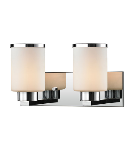 Z lite 707 2v ch roxburgh 2 light 15 inch chrome vanity for Z gallerie bathroom lights