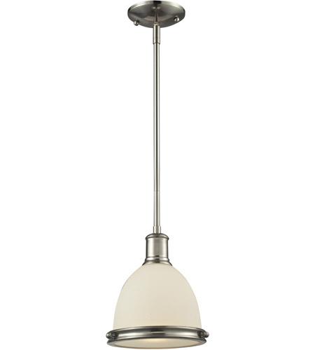 Bronze Finish Z-Lite 708P13-BRZ 1-Light Pendant
