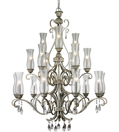 Z-Lite Antique Silver Steel Chandeliers