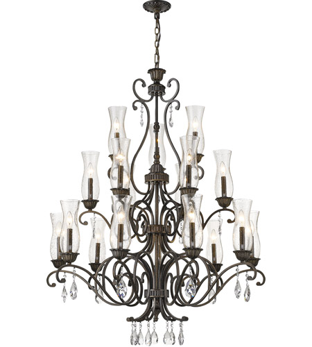 Z-Lite Golden Bronze Chandeliers