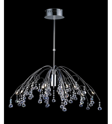 Z-Lite Parisian 12 Light Crystal Chandelier in Chrome 811CH photo