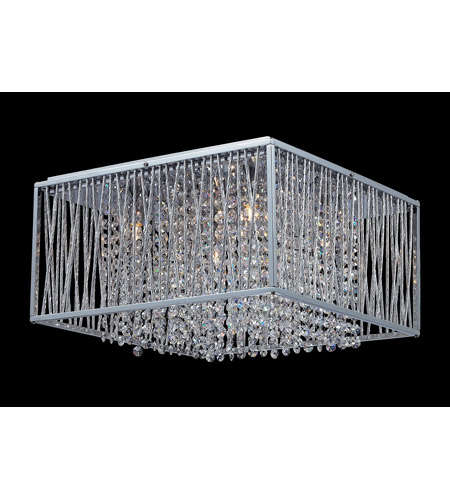 Z-Lite Zenith 5 Light Crystal Chandelier in Chrome 855CH photo