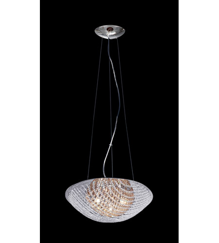 Z-Lite Athene 7 Light Pendant in Chrome with Crystal Glass 861AM photo