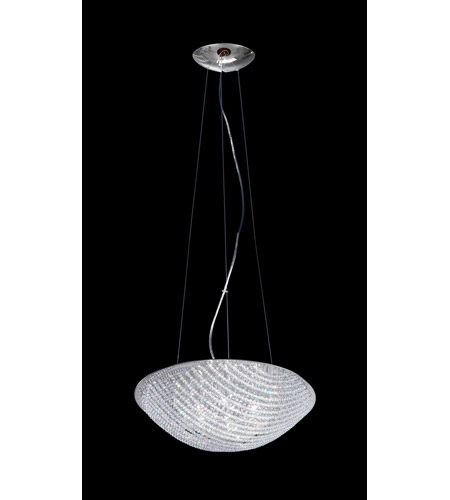 Z-Lite Athene 7 Light Pendant in Chrome with Crystal Glass 862CL photo