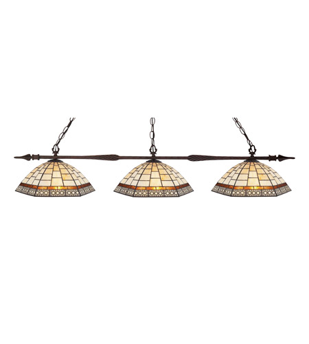 Z-Lite Prairie Garden 3 Light Island/Billiard in Bronze 88103BRZ-Z14-6 photo