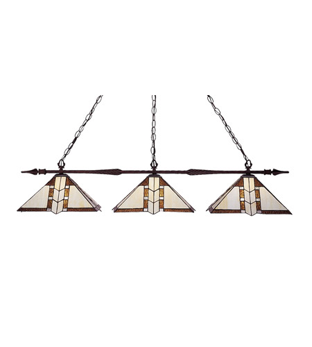 Z-Lite Aztec 3 Light Billiard in Bronze 88103BRZ-Z14-608 photo