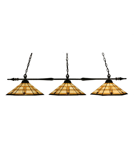 Z-Lite Aztec 3 Light Billiard in Bronze 88103BRZ-Z15-11 photo