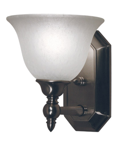 Z-Lite Clayton 1 Light Vanity in Brushed Nickel 901-1V-BN photo