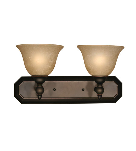 Z-Lite Clayton 2 Light Vanity in Burnt Antique Copper 901-2V-BAC photo