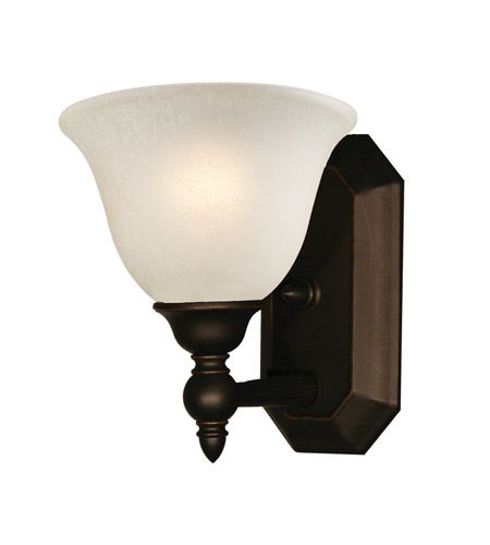 Z lite 904 1v clayton 1 light 8 inch bronze vanity light for Z gallerie bathroom lights