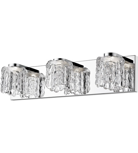 Z-Lite Chrome Tempest Bathroom Vanity Lights