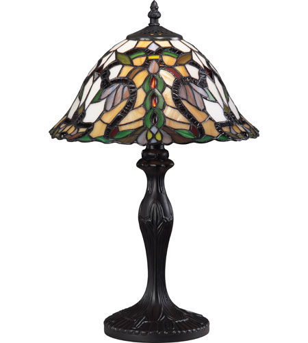 Z-Lite Accent Tiffany Lamp 1 Light Table Lamp in Bronze G12-3312 photo