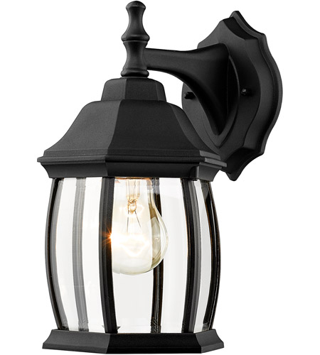 Black Waterdown Outdoor Wall Lights
