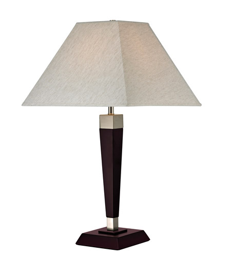 Z lite tl112 signature 25 inch 100 watt mahogany table for 100 watt table lamps