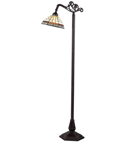 Z-Lite Prairie Garden 1 Light Floor Lamp in Chestnut Bronze Z10-35BR photo