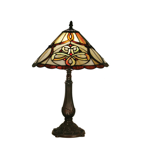 Z-Lite Albany 1 Light Table Lamp in Chestnut Bronze Z14-10-10TL photo