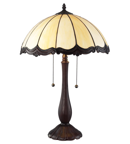 Z-Lite Ebony 2 Light Table Lamp in Chestnut Bronze Z16-39TL photo