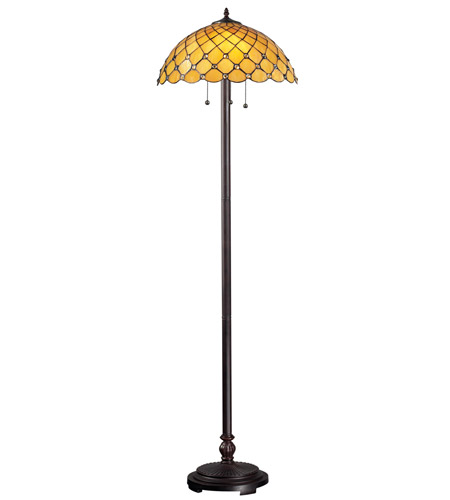 Z-Lite Chandelle 3 Light Floor Lamp in Chestnut Bronze Z18-14FL photo