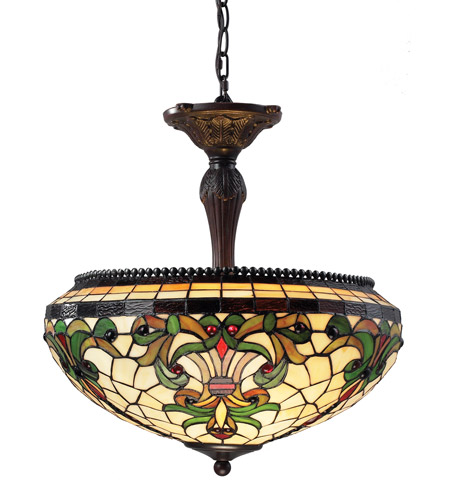 Z-Lite Z18-34P Templeton 3 Light 18 inch Chestnut Bronze Pendant Ceiling Light photo