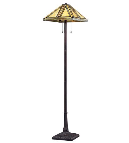 Z-Lite Shalimar 3 Light Floor Lamp in Chestnut Bronze Z18-45FL photo