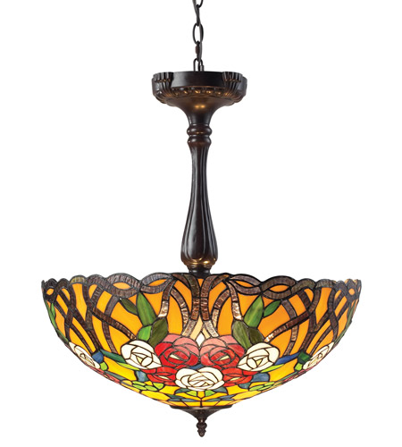 Z-Lite Rosa 3 Light Pendant in Chestnut Bronze Z22-38P photo