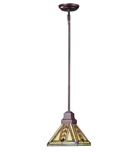 Z-Lite Shalimar 1 Light Mini Pendant in Chestnut Bronze Z8-45MP photo