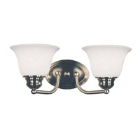 Z-Lite Huntingdale 2 Light Vanity in Brushed Nickel 100-2V-BN