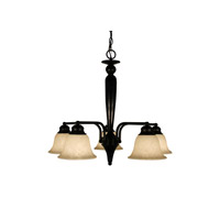 Z-Lite Huntingdale 5 Light Chandelier in Bronze 100-5PD-BRZ photo thumbnail