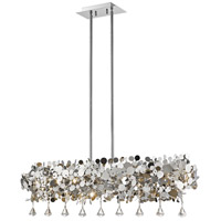 Z-Lite 1001-42CH Monaco 8 Light 12 inch Chrome Pendant Ceiling Light in 42
