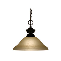 Z-Lite Signature 1 Light Pendant in Bronze 100701BRZ-GL12 photo thumbnail