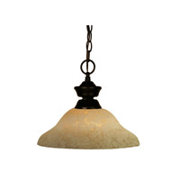 Z-Lite Signature 1 Light Pendant in Bronze 100701BRZ-GM12