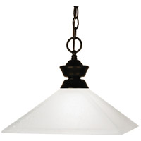 Z-Lite Flatwater 1 Light Billiard/Pendant in Bronze 100701BRZ-MMO13