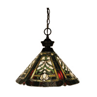 Z-Lite Signature 1 Light Pendant in Bronze 100701BRZ-Z14-16