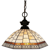 Z-Lite Aztec 1 Light Pendant in Bronze 100701BRZ-Z14-35