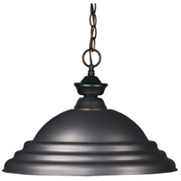 Z-Lite Riviera 1 Light Pendant in100701OB-SOB