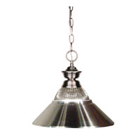 Z-Lite Signature 1 Light Pendant in Bronze 100701PT-RBN