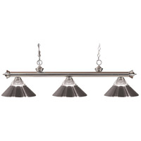 Z-Lite Riviera 3 Light Billiard in Pewter 100703BN-RBN