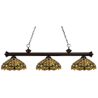 Z-Lite English Ivy 3 Light Billiard in Bronze 100703BRZ-C14